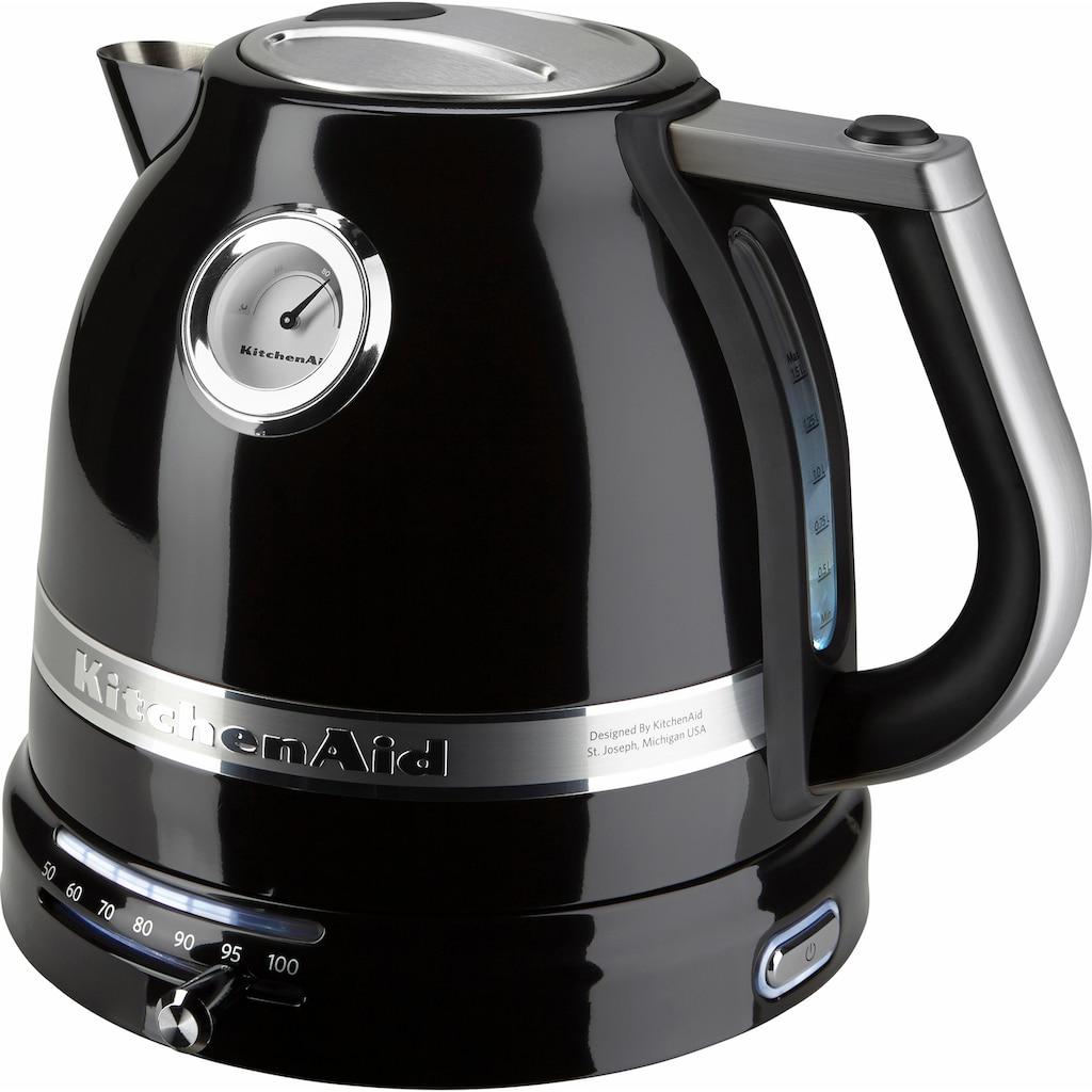 KitchenAid Wasserkocher »5KEK1522EOB«, 1,5 l, 2400 W, onyx schwarz