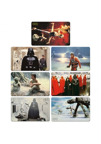 LOGOSHIRT Frühstücksbrettchen im 7er - Set mit Star Wars - Prints kaufen