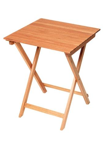 MERXX Gartentisch »Porto«, 60x60 cm, klappbar kaufen