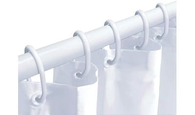 KLEINE WOLKE Komplett - Set: Duschvorhang »Dusch - Set«, weiß, inkl. Teleskopstange und Ringen kaufen