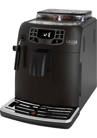 Gaggia Kaffeevollautomat Velasca Coffee, 1,5l Tank, Scheibenmahlwerk kaufen