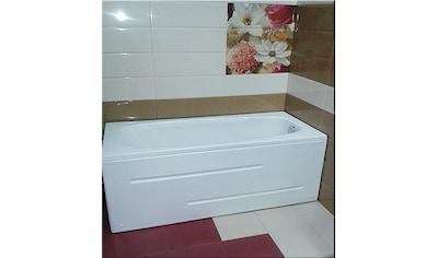 SANOTECHNIK Badewanne »Marbella«, 180x80 weiss, inkl Frontschürze kaufen