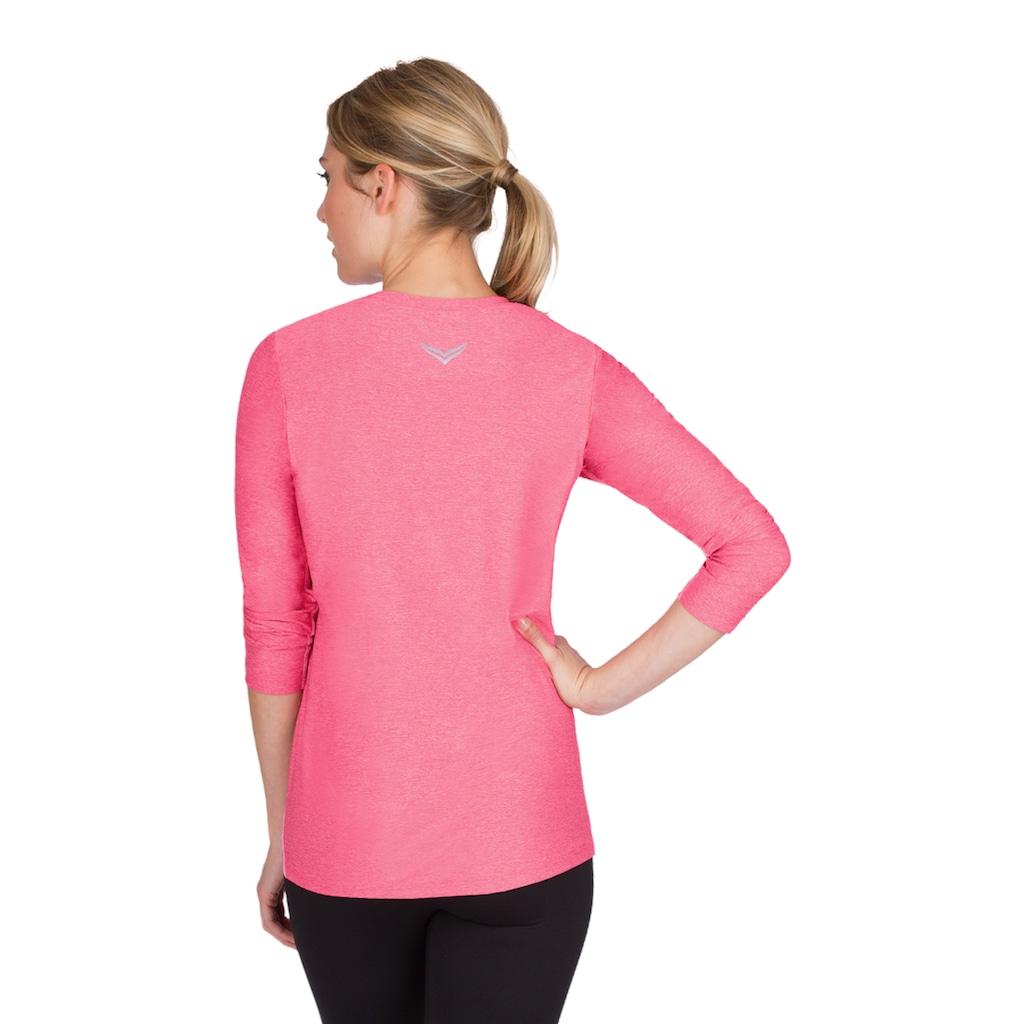 Trigema T-Shirt, aus elastischer Microfaser