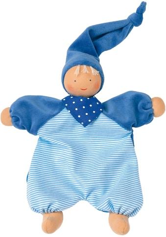 Käthe Kruse Stoffpuppe »Gugguli Blau«, (1 tlg.), mit Zipfelmütze kaufen
