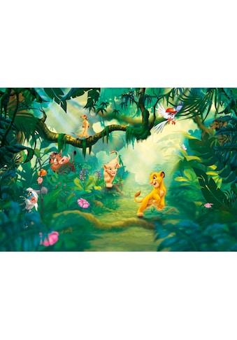 Komar Fototapete »Lion King Jungle«, bedruckt-Comic, ausgezeichnet lichtbeständig kaufen