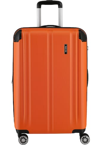 "travelite Hartschalen - Trolley ""City, 68 cm, orange"", 4 Rollen kaufen"