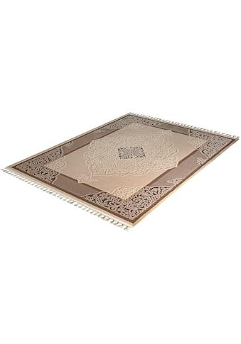 Teppich, »Delüks 6826«, Sanat, rechteckig, Höhe 14 mm, maschinell gewebt kaufen