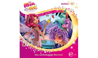 Musik - CD (33)Original HSP TV - TV - Sechsaugen Monster / Mia And Me, (1 CD) kaufen