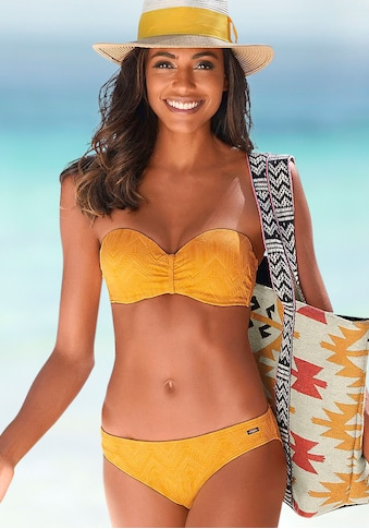 Buffalo Bügel-Bandeau-Bikini, aus Strukturware kaufen