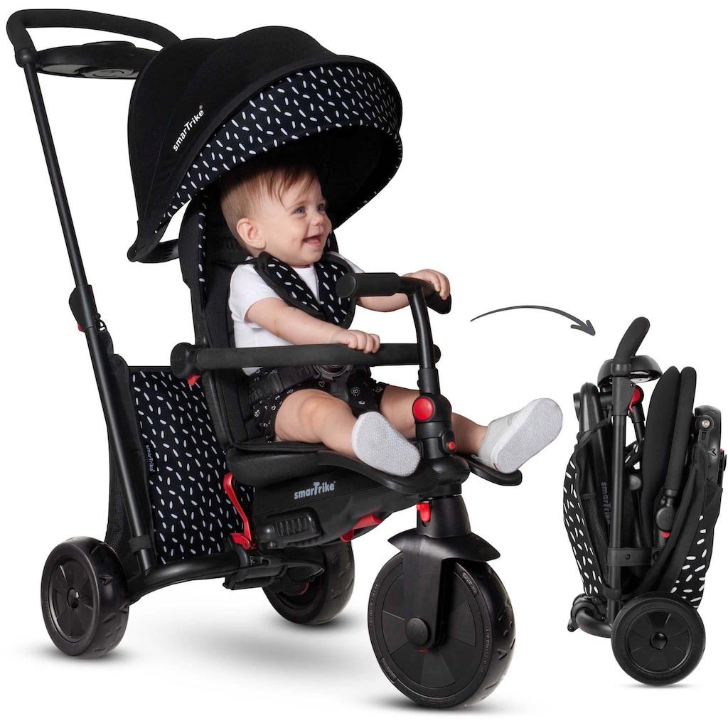 smarTrike® Dreirad »smarTfold 600S, schwarz/weiß«
