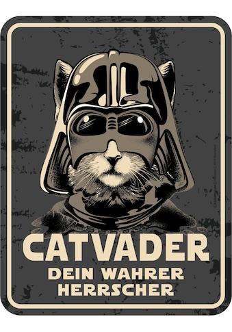 Rahmenlos Blechschild für den Katzen-Liebhaber kaufen