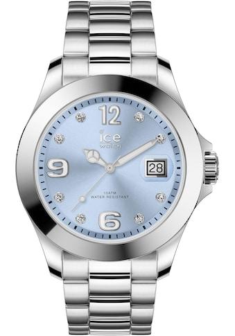 ice-watch Quarzuhr »ICE steel classic - Light blue silver - Stones - Medium - 3H, 16775« kaufen