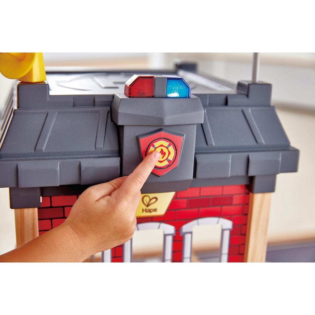 Hape Spiel-Feuerwehrwache »Großstadt-Feuerwache«, aus Holz
