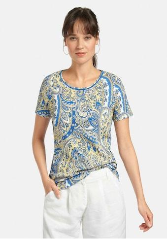 Peter Hahn T-Shirt »Rundhals-Shirt«, mit Paspeln kaufen
