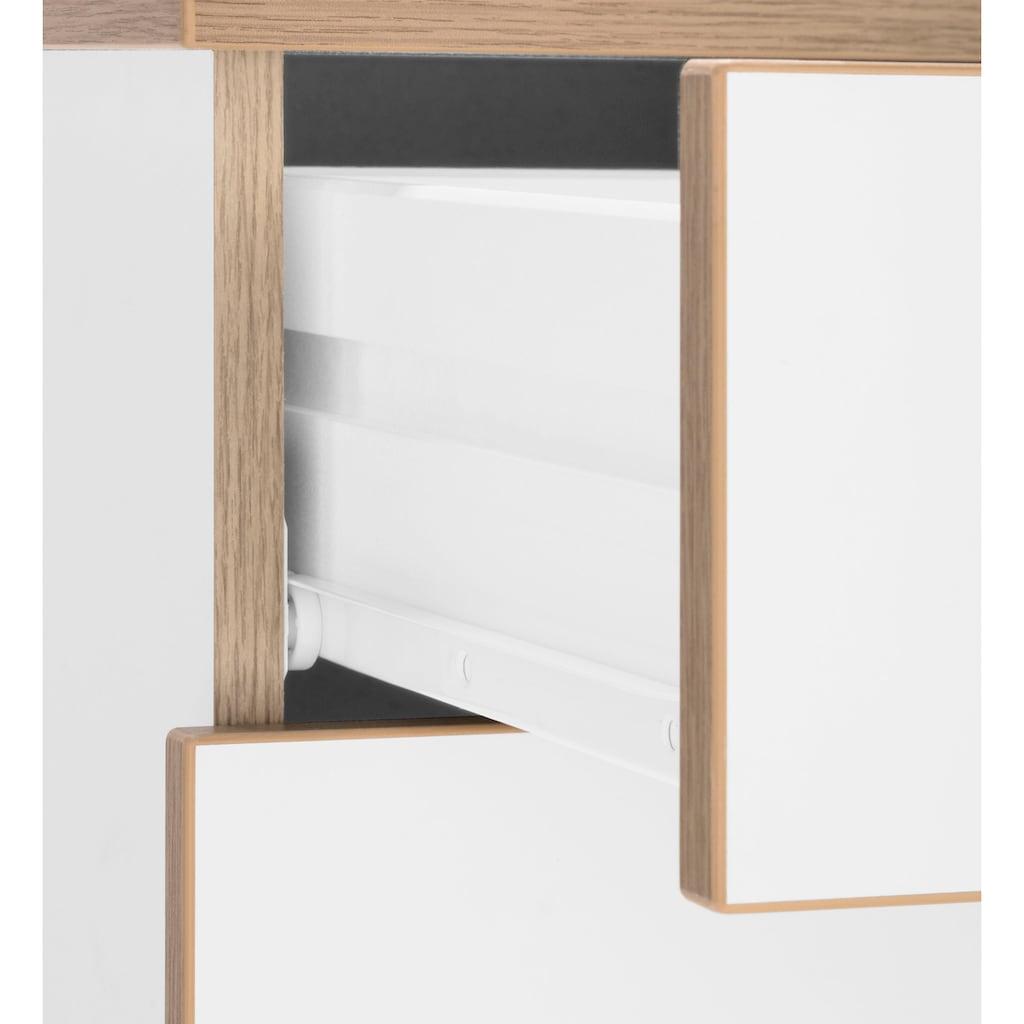 Rollcontainer »Trelle«, Türen mit Soft-Close, Grifflose Optik