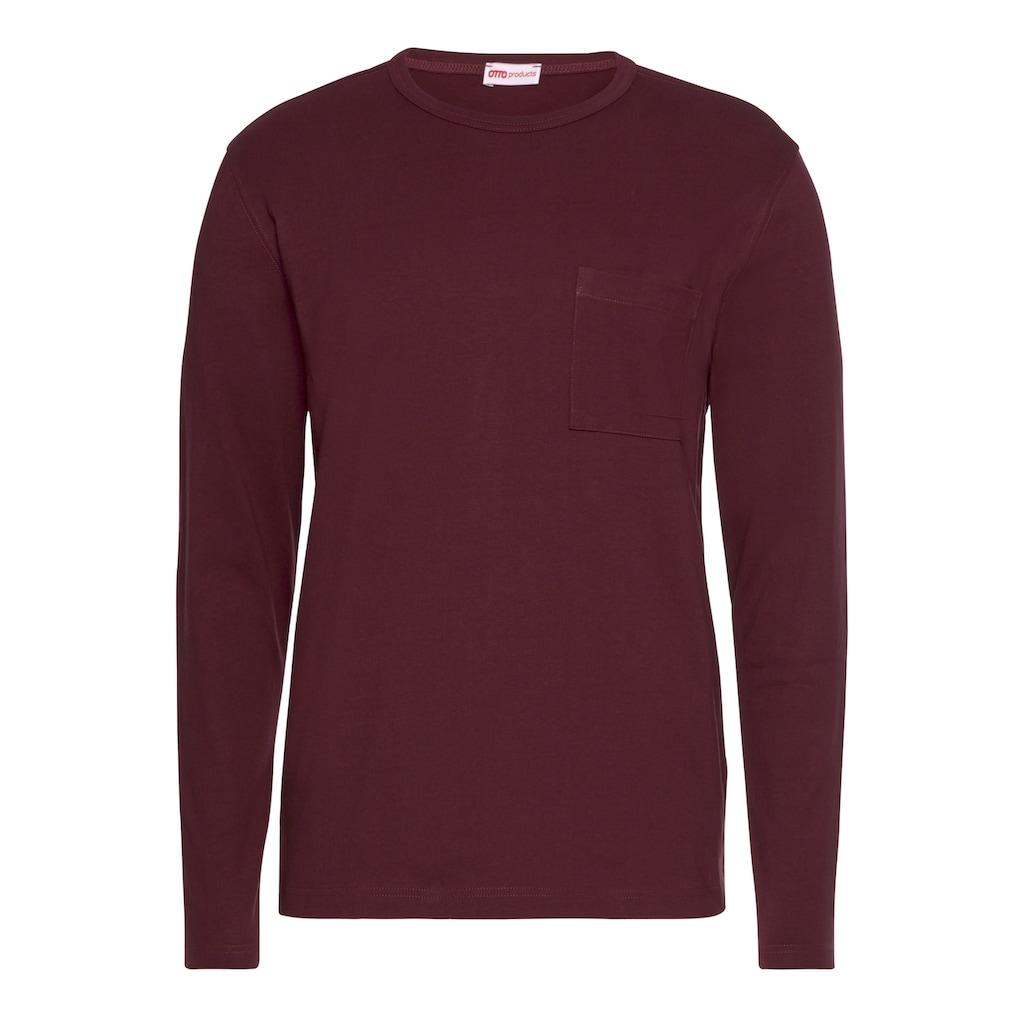OTTO products Langarmshirt »aus nachhaltiger Bio-Baumwolle«