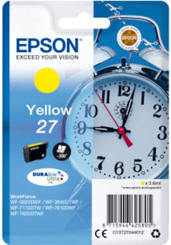 Epson Tintenpatrone »Yellow 27 DURAbrite Ultra«, (1 St.) kaufen