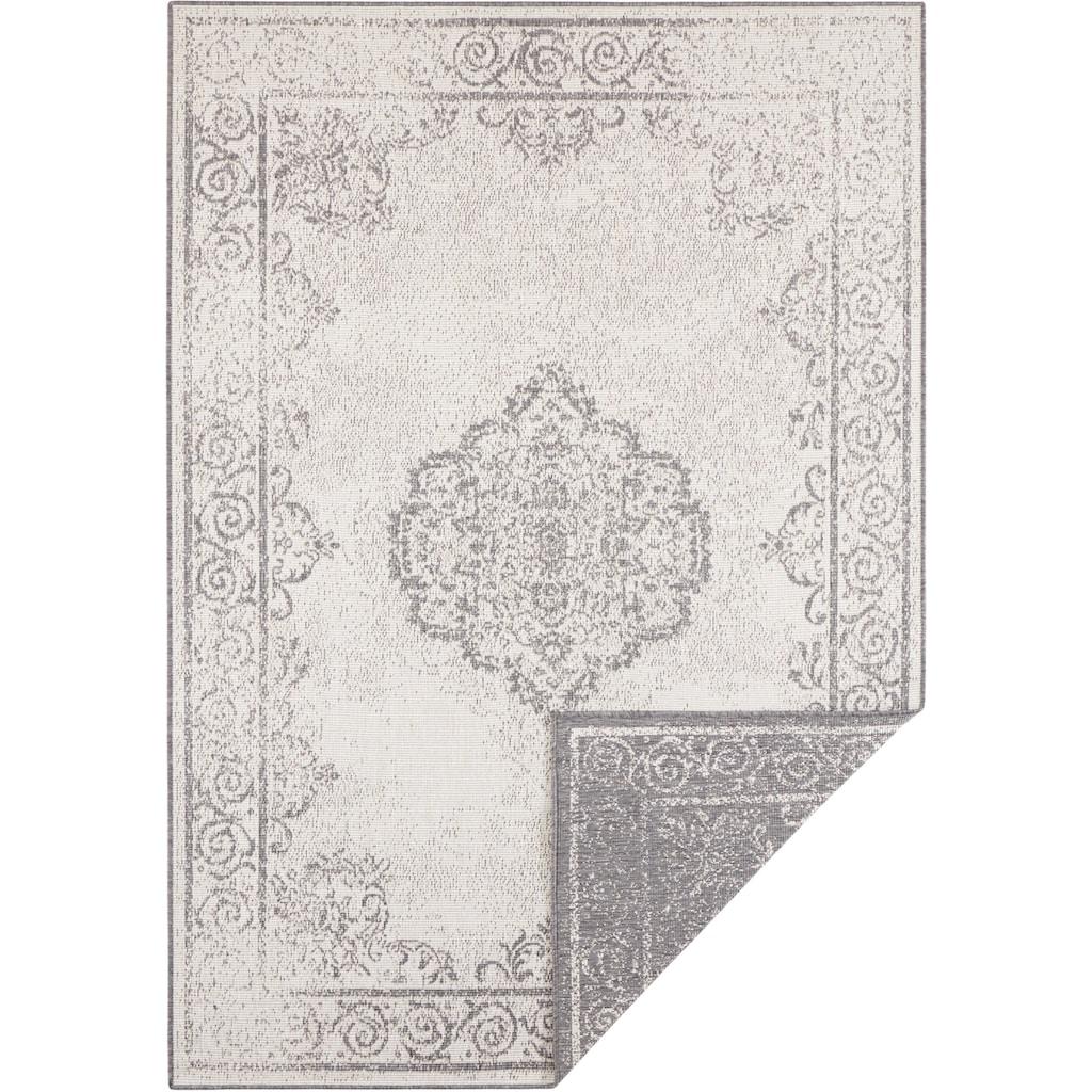 bougari Teppich »CEBU«, rechteckig, 5 mm Höhe, In- und Outdoor geeignet, Wendeteppich, Wohnzimmer