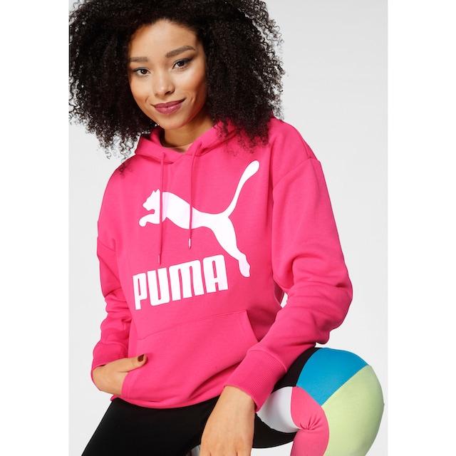 PUMA Kapuzensweatshirt »Classics Logo Hoody Regular fit«