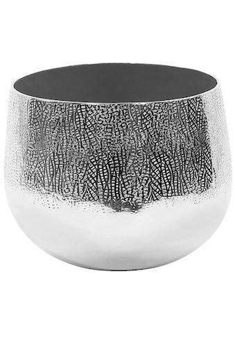 Fink Übertopf »BLUSH, silberfarben«, (1 St.), dekorativer Blumentopf, aus Metall, in... kaufen