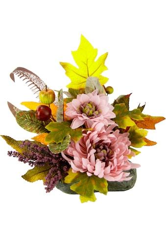 I.GE.A. Kunstpflanze, Gesteck auf Stein kaufen