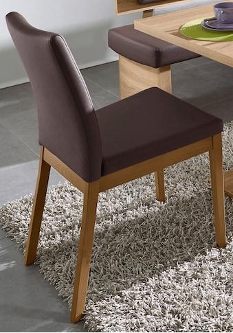 SCHÖSSWENDER 4-Fußstuhl »Trio«, Rücken und Sitzfläche gepolstert kaufen