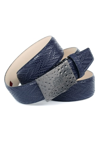 Anthoni Crown Ledergürtel, 4 cm Automatik Ledergürtel für Jeans kaufen
