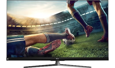 "Hisense QLED-Fernseher »55U8QF«, 139 cm/55 "", 4K Ultra HD, Smart-TV, Quantum Dot Technologie, 120Hz Panel, USB-Recording, JBL sound, Alexa Built-in kaufen"