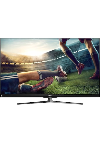 "Hisense QLED-Fernseher »55U8QF«, 139 cm/55 "", 4K Ultra HD, Smart-TV, Quantum Dot Technologie, 120Hz Panel, USB-Recording, JBL sound, Alexa Built-in kaufen"