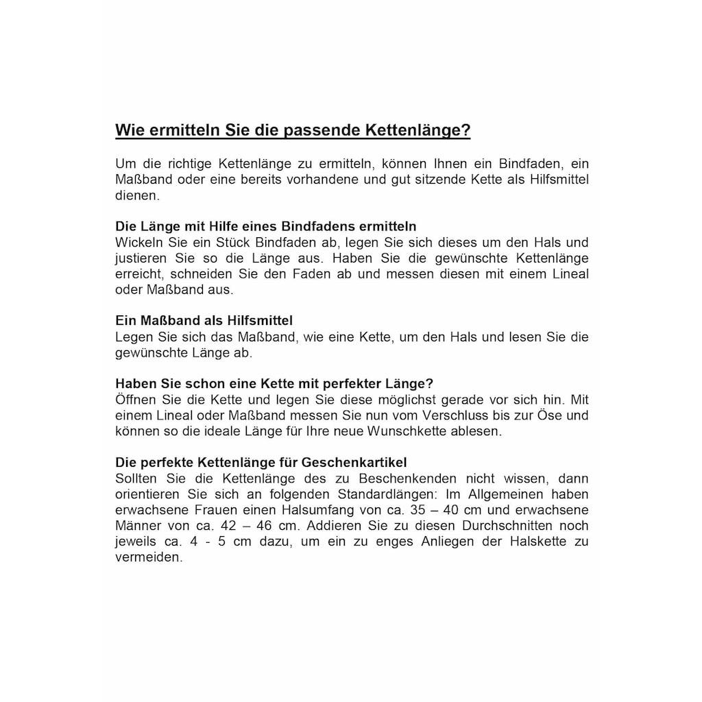 Firetti Edelstahlkette »Figarokettengliederung, glanz, ca. 4 mm«