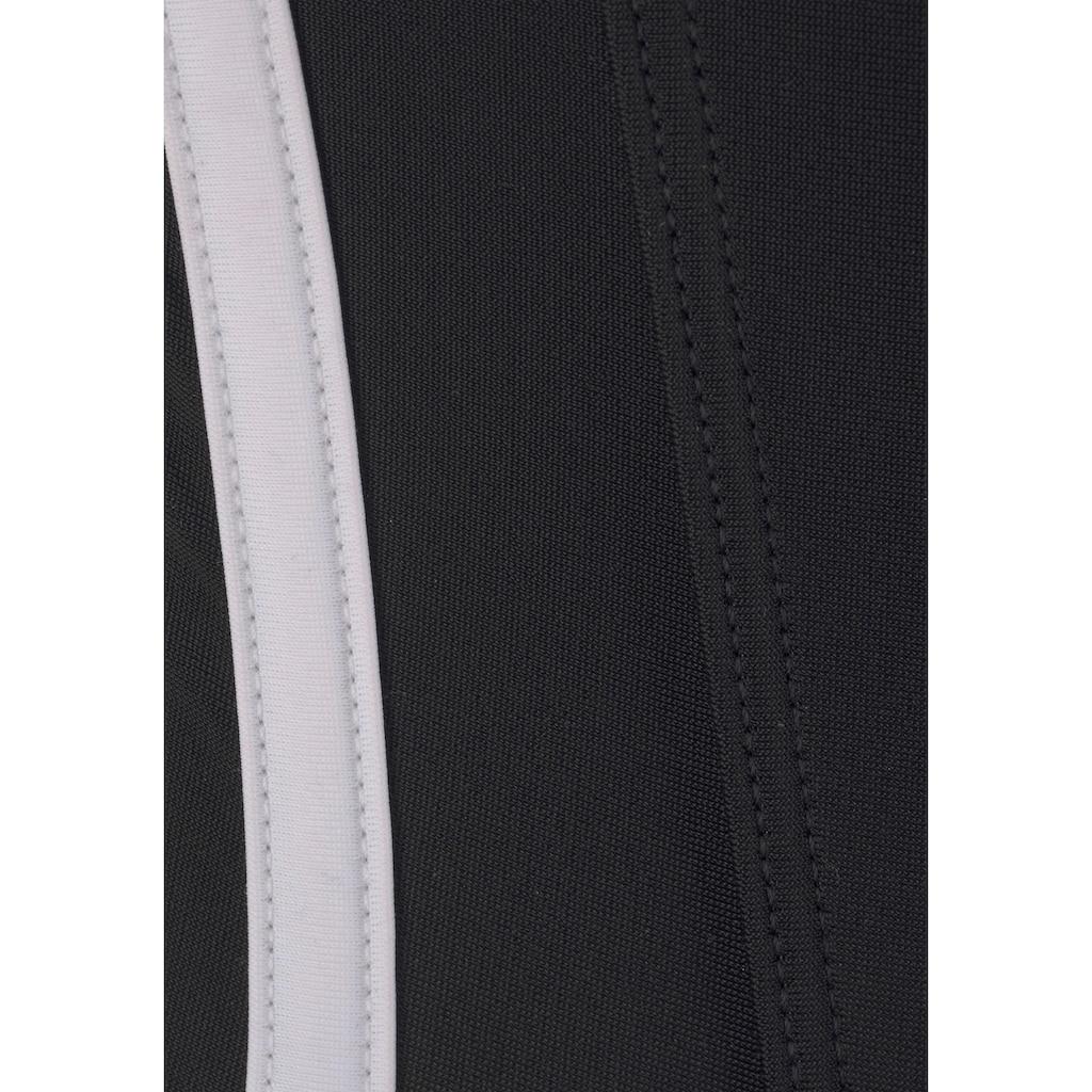 adidas Performance Badeanzug, mit seitlichen Streifen