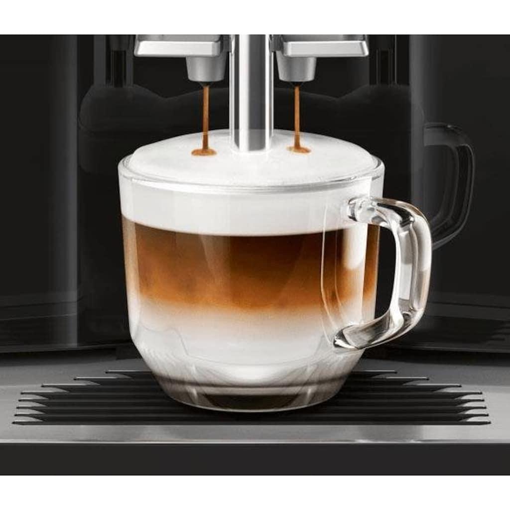 SIEMENS Kaffeevollautomat »EQ.300 TI351509DE«, einfache Zubereitung mit oneTouch Funktion, 5 Kaffee-Milch-Getränke, schwarz