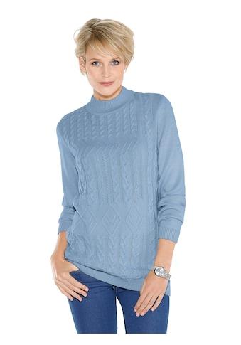 Classic Basics Pullover mit Zopf -  und Fantasie - Muster kaufen