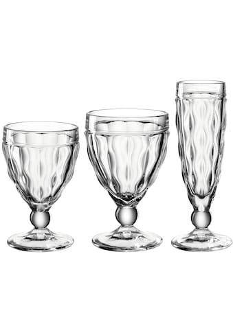 LEONARDO Gläser-Set »BRINDISI«, (Set, 12 tlg., 4 Sektgläser-4 Weißweingläser-4... kaufen