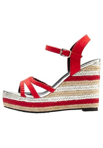LASCANA High-Heel-Sandalette, mit Keilabsatz kaufen