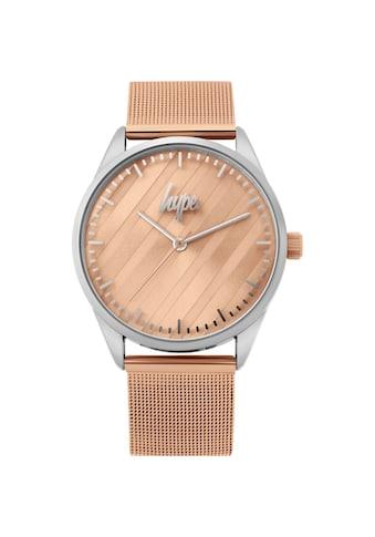 Hype Automatikuhr »Unisex Analog Mesh Armbanduhr« kaufen