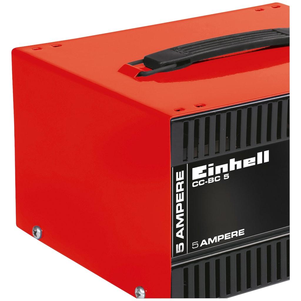 Einhell Autobatterie-Ladegerät »CC-BC 5«, 5000 mA, 5 A Ladestrom