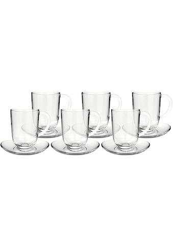 LEONARDO Latte-Macchiato-Glas »NAPOLI«, (Set, 6 tlg., 6 Latte Macchiatotassen-6... kaufen