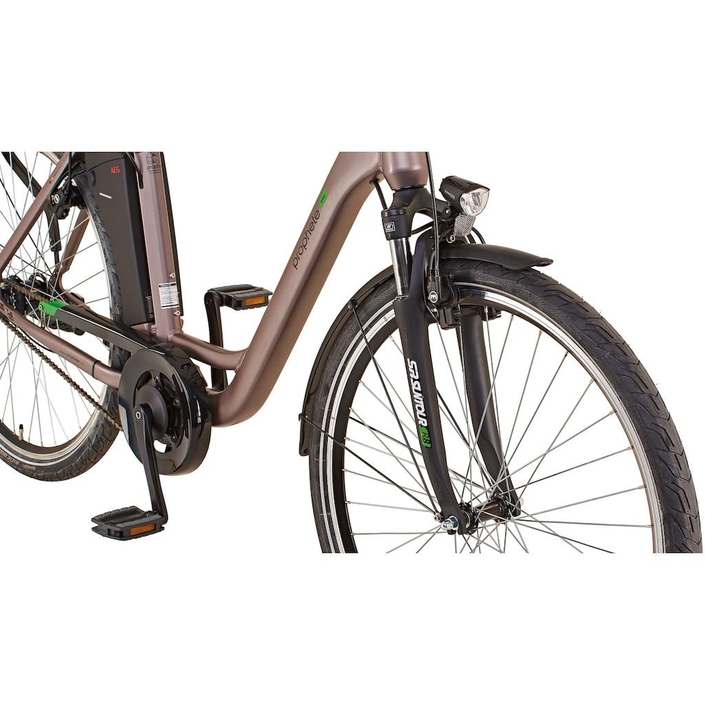 "Prophete E-Bike »GENIESSER City E-Bike 28""«, 7 Gang, Shimano, Mittelmotor 250 W"