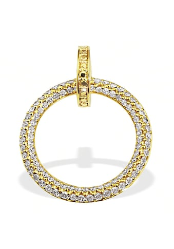 goldmaid Anhänger Gelbgold 585/- Diamanten Pavee kaufen