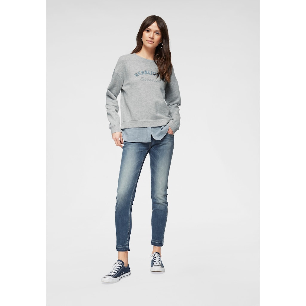 Herrlicher Skinny-fit-Jeans »TOUCH CROPPED«, Low Waist Powerstretch