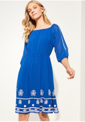 Comma Chiffon-Kleid kaufen