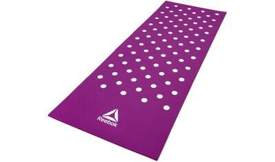 Reebok Trainingsmatte »Training Mat  -  Spots  -  Purple« kaufen