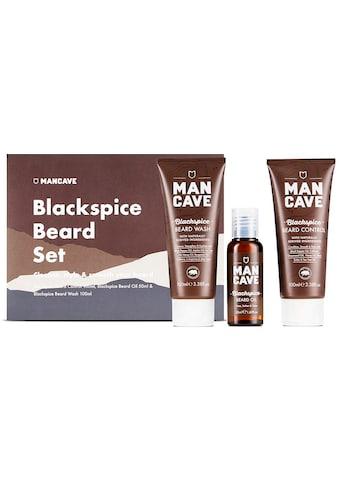 MAN CAVE Bartpflege-Set »Blackspice Beard Set«, (3 tlg.) kaufen