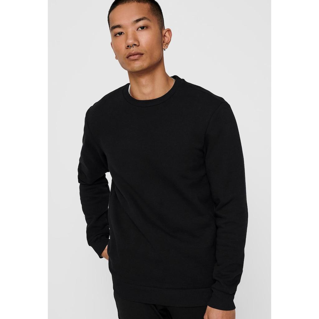 ONLY & SONS Sweatshirt »CERES LIFE CREW NECK SWEATSHIRT«