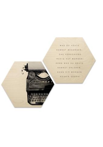 Wall-Art Wandspruch »Zitat Vintage Schriftzug Bilder« kaufen