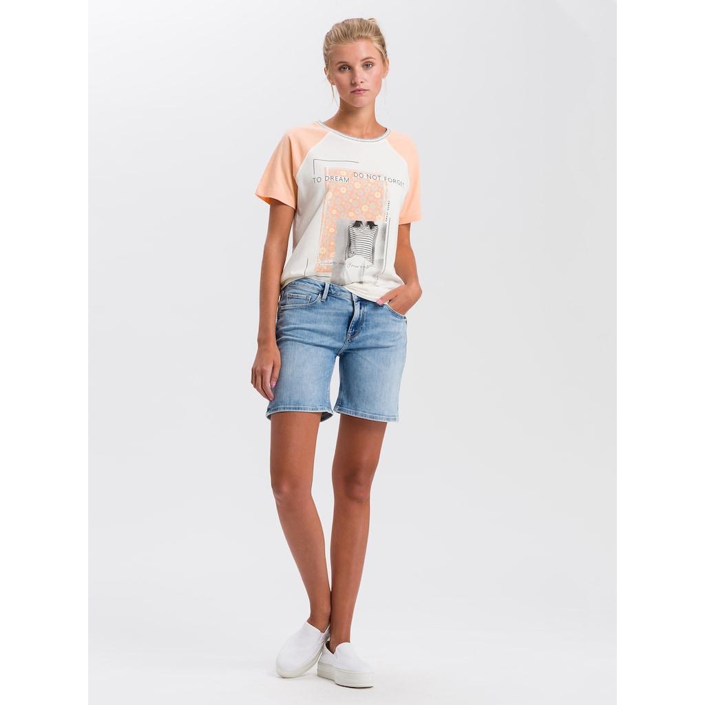 Cross Jeans® T-Shirt »55746«, Legeres Shirt