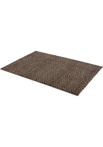 ASTRA Teppich »Carpi Raute«, rechteckig, 15 mm Höhe, Wunschmaß, Wohnzimmer kaufen