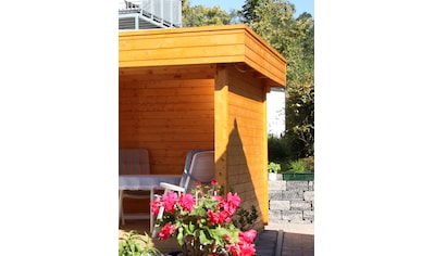 WOLFF FINNHAUS Seitenwand »Maja«, für Gartenhaus »Maja 40« kaufen