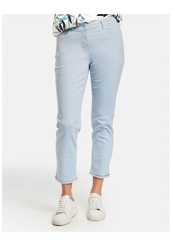 GERRY WEBER Hose Jeans verkürzt »7/8 Hose mit Glitzerdetails« kaufen